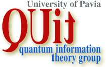 Quantum Information Theory Group, University of Pavia